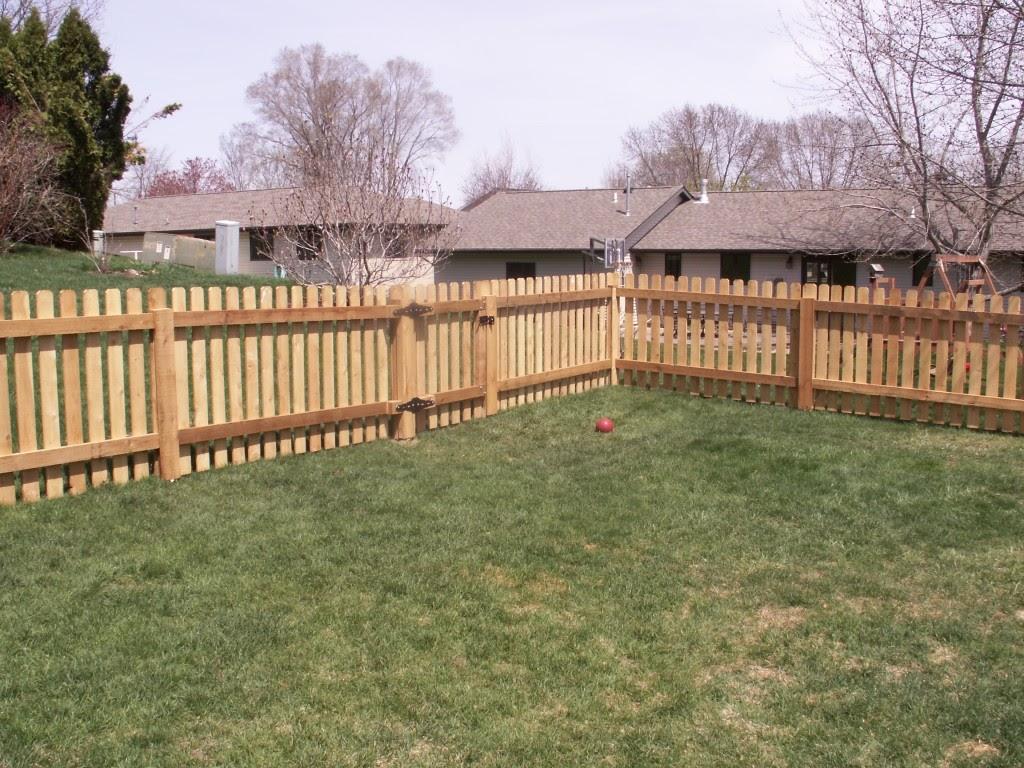 Wood Fences All Star Fence Company