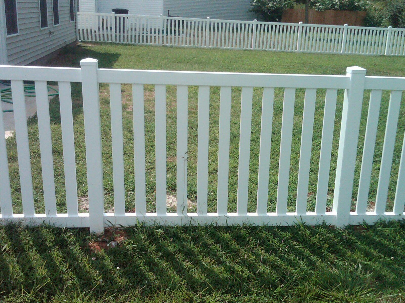 Vinyl fence products spokane fencing