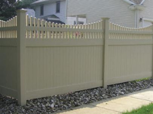 Vinyl Fence Products From All Star Fence Maintenance